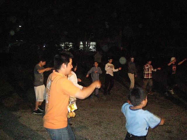 キャンプファイヤーダンス