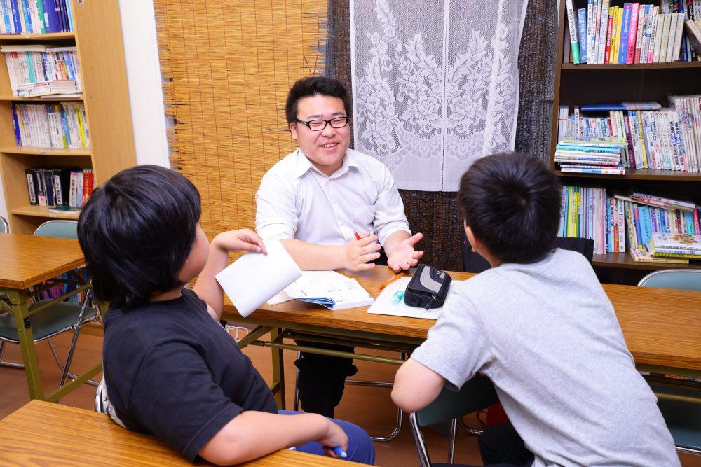 OG・OB採用による生徒と講師同士の強い繋がり